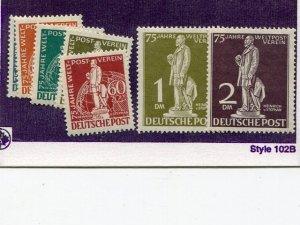 Berlin #9N35-41  Mint VF NH  - Lakeshore Philatelics