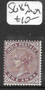 INDIA (PP2609B) QV 1A  SG89  MOG