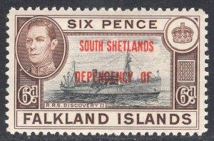 FALKLAND ISLANDS SCOTT 5L6