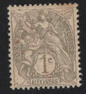 Alexandria Scott 16 MH* stamp