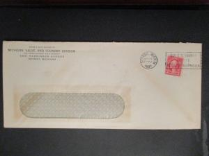 1937 Detroit Michigan Valve and Foundry Timken Axle Co Advertising Cover