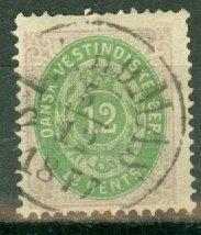 CW: Danish West Indies 11 used CV $175