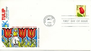 US FDC #2517 Tulip, House Of Farnam (0540)