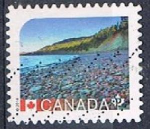 CANADA 170333 - 2014 NVI UNESCO World Heritage Sites used sa booklet single
