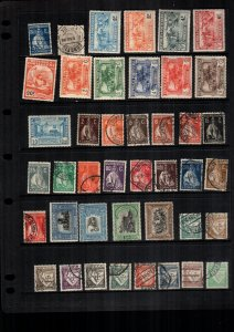 Portugal  38  diff  used and mint   lot collection