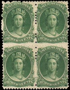 Nova Scotia Scott 11 Mint never hinged.