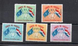 Paraguay 569-571,C272-C273 MH