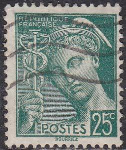 France Sc# 360 Hinged Used 1938