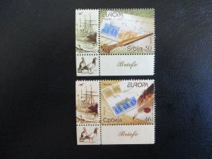Serbia #431-32 Mint Never Hinged (M3J8) WDWPhilatelic 2
