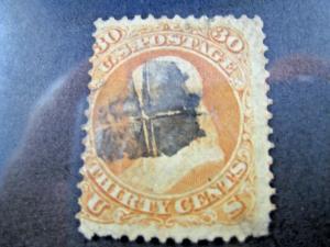 U.S. SCOTT # 71     Used    (kb71)