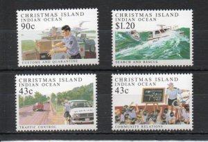 Christmas Island 303-306 MNH