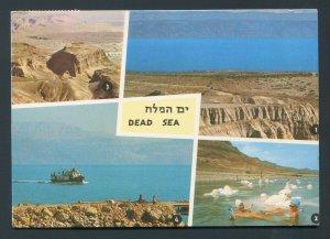 1972 Dead Sea Postcard - Israel to Cincinnati, Ohio USA
