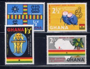 Ghana 42-45 NH 1959 set