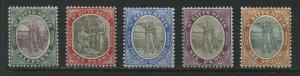 St. Kitts 1903 various values from 1/2d to 1/ mint o.g.