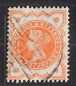 Queen Victoria, Great Britain, SC #111, (1855-T)