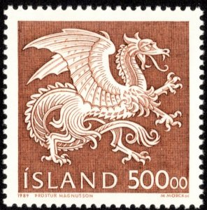Iceland Scott 677 Mint never hinged.