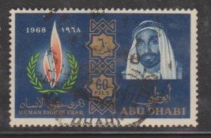 Abu Dhabi Sc#43 Used