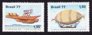 Brazil Aviation Anniversaries 2v SG#1683-1684