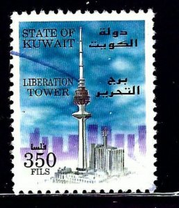 Kuwait 1355 Used 1996 Liberation Tower    (ap1022)