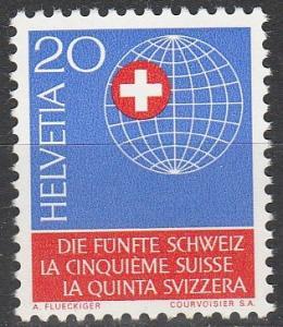 Switzerland #476 MNH   (S3525)