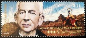 V) 2016 ARGENTINA, THE CURE GAUCHO, SAN JOSE GABRIEL DEL ROSARIO BROCHERO, MNH