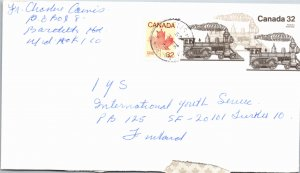 Canada, Postal Stationary, Trains