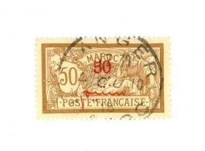 French Morocco Scott 36 VF    [ID#423895]