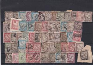 France Postage Due Stamps  Faults Ref 31739