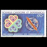 NEW CALEDONIA 1983 - Scott# C188A Communication Set of 1 NH