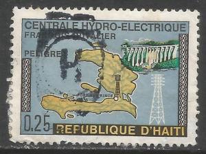 HAITI 638 VFU MAP X825
