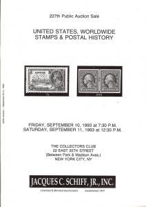 United States, Worldwide Stamps & Postal History, Schiff 227
