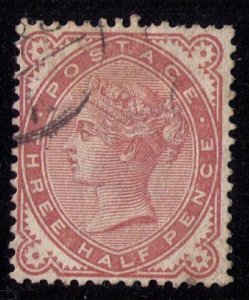 Great Britain Sc #80 (SG167) Used F-VF Cat.$47.50