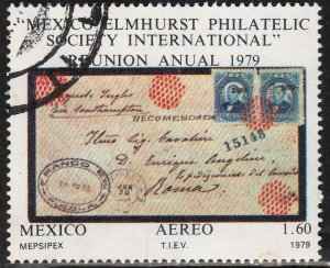 MEXICO C605 Mepsipex79 International Exhibition USED. F-VF. (700)