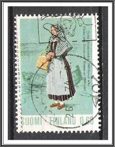 Finland #537 Regional Costumes Used