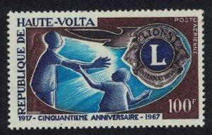 Upper Volta Lions Intl 1v 1967 MNH SG#209
