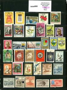 PKStamps - ssaa995 - Colombia - Mini Lot - Check Out Image