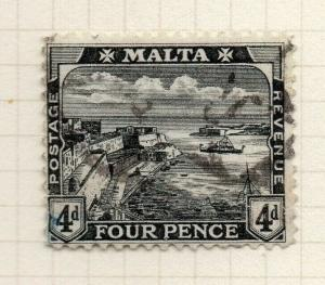 Malta 1915-16 Early Issue Fine Used 4d. 321537