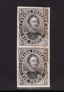 Canada #2TCx XF Proof Pair India Paper On Card