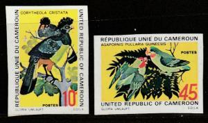 Cameroun  1972  Scott No. 554-55  (N**)  Complet ($$)