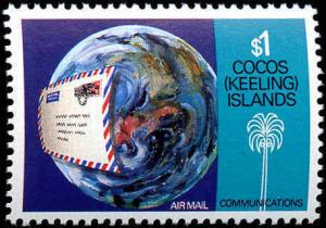 Cocos Islands #162-165 Complete Set(4), Never Hinged