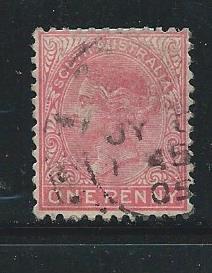 South Australia 133 1904 1d Used