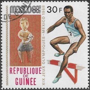 Guinea 1968 Scott # 526 NH CTO. Free Shipping for All Additional Items