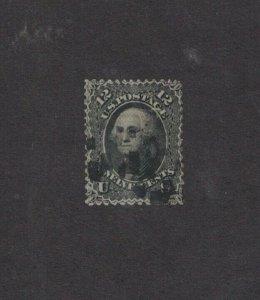 Scott 97 - Washington 12 Cent. Single. Used.  Grill.   #02 97a