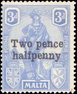 Malta #115, Complete Set, 1925, Hinged