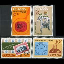 GUYANA 1979 - Scott# 298-301 R.Hill Set of 4 NH
