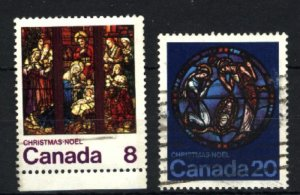 Can #697,699   -2   used VF 1976 PD
