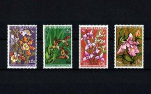 BRITISH HONDURAS - 1968 - FLOWERS - FLORA - ECLA 20th ANNIVERSARY  MINT MNH SET!