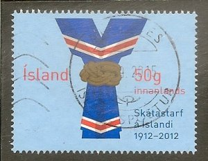 Iceland Scott 1270  Scouting Centenary   Used