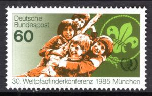 Germany 1446 Boy Scouts MNH VF