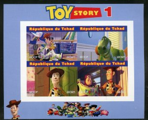 Chad 2021 'Toy Story 1' imperf sheet mint nh